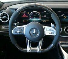 Mercedes-Benz OEM X290 AMG Gt Alcantara Mikrofaser & Carbon Faser Lenkung Rad