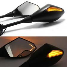 Motorcycle LED Turn Signal Mirrors For Honda VFR800 2002-2008 VFR 800 VFR800Fi F