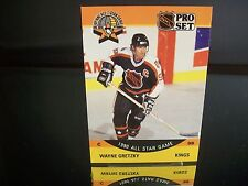 Rare Wayne Gretzky Pro Set All Star Game 1990 Card #340 Los Angeles Kings NHL