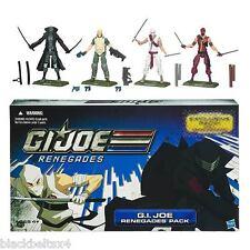 GI Joe Renegades 4-Pack Duke Snake Eyes Storm Red Ninja New Unopened Amazon Excl