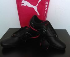 NEW PUMA FERRARI Drift Cat 4 SF Sneakers in Black-Rosso Corsa Size Men's 13