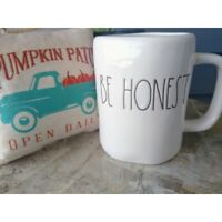 Rae Dunn BE HONEST Mug Artisan Collection by Magenta Large Coffee Tea Mug New