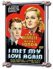 I Met My Love Again (1938) DVD Joan Bennett, Henry Fonda, Louise Platt