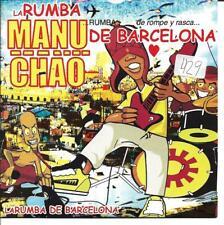 MANU CHAO - RUMBA DE BARCELONA CD SINGLE 1 TRACK PROMO 2002