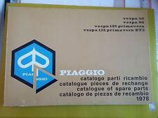 VESPA 50 - 90 - 125 PRIMAVERA - ET3 ANNO 1978
