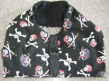 Black Skulls Toy Dog Harness Vest Italian Greyhound Chinese Crested Min Pinscher