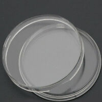 10x 35mm Applied Clear Round Cases Coin Storage Capsules Holder Round PlastiODCA