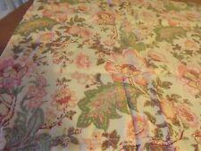 "New Pink & Green Floral Valance 40Wx18"" Nip"