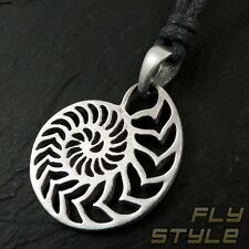 Chain Pendant Nautilus Necklace Surfer Diver's Jewelry Goa Maui Tribal BH