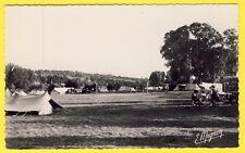 cpa Rare 77 SAMOIS sur SEINE Le CAMP du PETIT BARBEAU Terrain de Camping Tentes