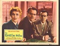 1957 MOVIE LOBBY CARD #3-1219 - THE GREEN MAN - ALASTAIR SIM