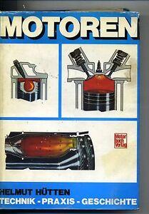 Helmut Hutten # MOTOREN # Motorbuch Verlag Stuttgart 1978