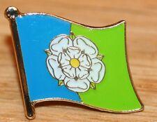 YORKSHIRE - EAST RIDING England County Flag Enamel Pin Badge UK Great Britain
