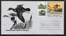 CANADA SASKATCHEWAN # SW5 WILDLIFE CONSERVATION 1994 FIRST DAY COVER