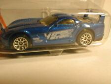 Matchbox 2002 #10 DODGE VIPER GTS R blue  match box