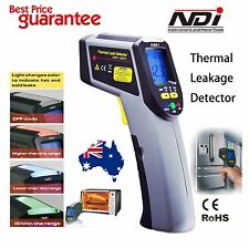 Digital Infrared IR Thermometer Temperature Laser Gun + Leak Detection KC-186