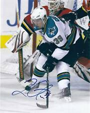 Logan COUTURE Signed SAN JOSE SHARKS 8x10 Photo #2