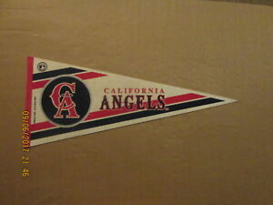 MLB CA California Angels Vintage 1993 Logo Baseball Pennant