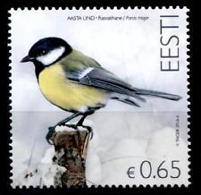 Vögel. Kohlmeise. 1W. Estland 2016