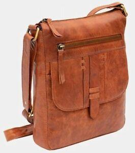 Prime Hide Leather Arizona Cross Body Bag Various  3 Colours