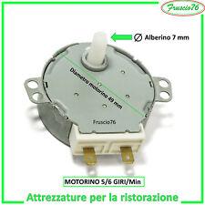 Motorino per Piatto girevole Forno Microonde 4w 5/6 RPM DeLonghi Candy Rosieres