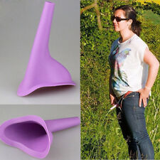 Women Portable Urinal Camping Travel Urination Device Urine Funnel Toilet EEY