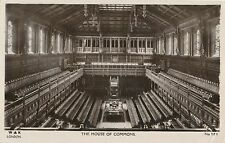 POSTCARD   POLITICS     LONDON   House of  Commons  (  Interior )