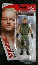 Drake Maverick (Green Attire) - Wwe Series 102 Mattel Toy Action Figure Ship Now