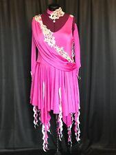 Je Bling Ballroom Competition Latin Rhythm Costume US size 12-16 Swarovski