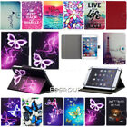 """Purple Butterfly Folio Buckle Universal Case Cover For 9.7"""" 10.1"""" 10.5"""" Tablet"""