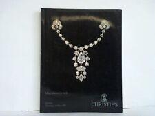 Christie's (International) SA, Geneva (Hrsg.): Magnificent Jewels. Geneva, ...