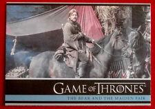 GAME OF THRONES - THE BEAR & MAIDEN FAIR - Season 3, Card #21 - Rittenhouse 2014