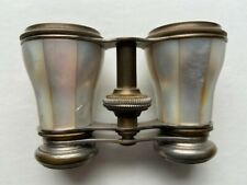 Antique Opera Glasses, White Mother Of Pearl