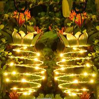 Solar Powered Pineapple Hanging LED Lights Waterproof Garden&Outdoor Décor