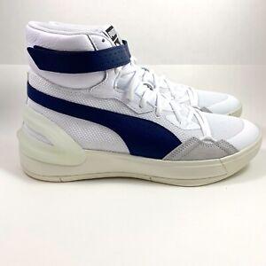 New Mens Puma Kuzma Sky Modern White Peacoat Basketball Shoes Size 11 194042-01