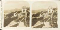 Francia Nice Vista Prise Del Monte Boro, Foto Stereo Vintage Analogica PL62L11