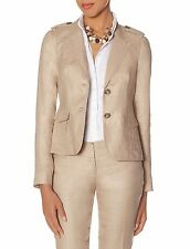 NWT THE LIMITED  S Linen Safari  BLAZER only! JACKET SUIT