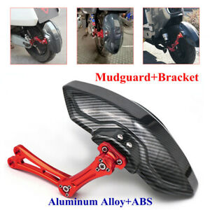 "14-18""Motorcycle Rear Wheel CNC Aluminum Alloy ABS Cover Fender Non-slip Bracket"