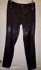 Baby Phat NWTND Junior's Shiny Black Pants Size 7