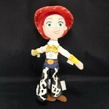 "Toy Story Jessie Cowgirl Disney Plush Stuffed Doll 11"" Sewn Eyes Red Cowboy hat"