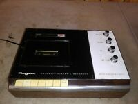 Vintage mayfair electronics Solid State Cassette Tape player 2070 powers up