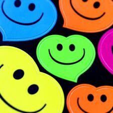 136pcs/Pack 5 Color Cute Smiley Heart Faces Emoji Teacher Reward Kids Stickers