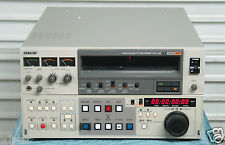 "SONY BVU-950P PAL U-MATIC SP 3/4""  RECORDER-EDITOR w/ TBC - Warranty"