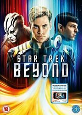 Star Trek Beyond DVD + Digital Download  with Chris Pine New (DVD  2016)