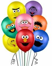 8 Sesame Street Latex Balloons Birthday Party Decoration