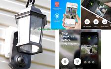 Kuna Maximus Smart Home Security Outdoor Light & Camera