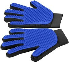 Pet Grooming Glove - Perfect for Dog & Cat with Long & Short Fur - 1 Pair