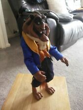 """Disney Store BEAST Classic 12"""" Doll Rare From Beauty And The Beast"""