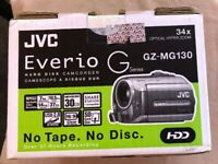 JVC Everio GZ-MG130 30GB Hard Disk With 2 Xtra Batteries And Charger *FREE SHIP*
