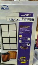 Bemis replacement air care filter #1051 for 400 600 H12 series humidifiers NOS